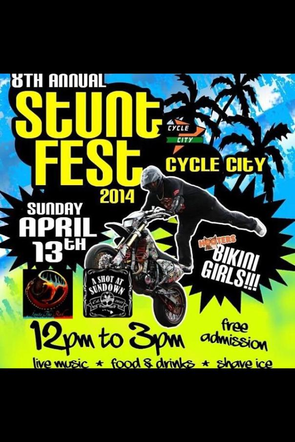 Cycle City Annual Stunt Fest 2014